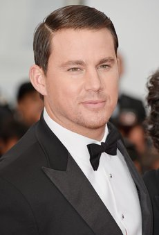 Channing Tatum in Cannes