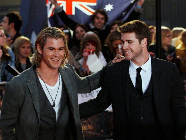 Chris und Liam Hemsworth