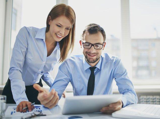Jobsharing: Mehrere Mitarbeiten teilen sich einen Arbeitsplatz