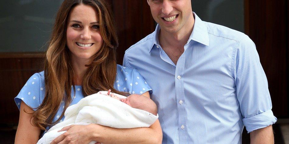 Prinz George: Der kleine Sohn von Kate Middleton wird getauft