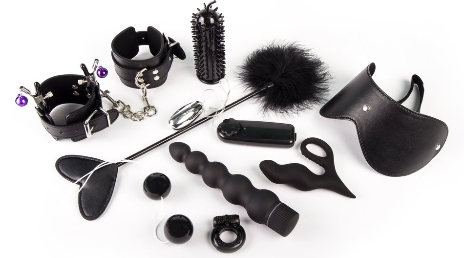BDSM leather set