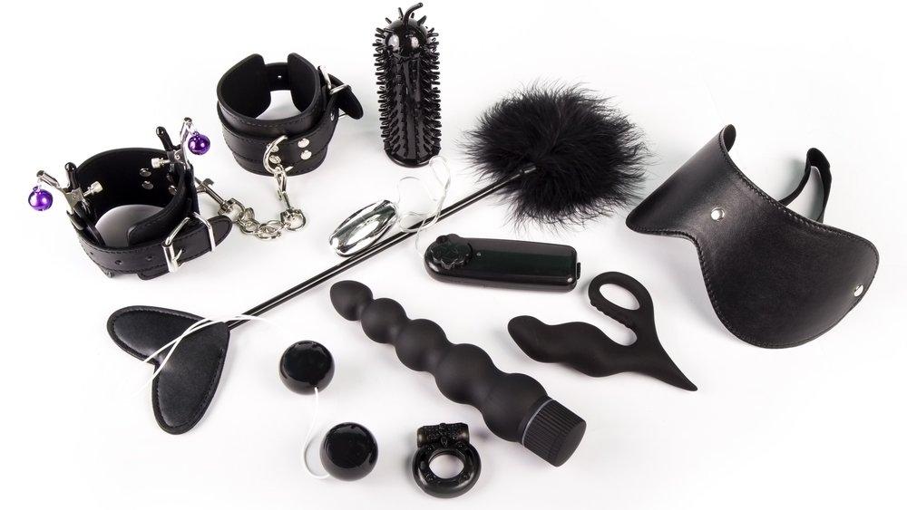 BDSM leather set