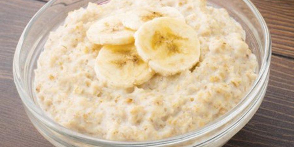Porridge ohne Milch