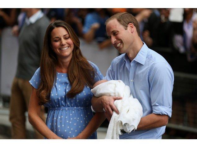 Prinz William und Kate Middleton im blauen Partnerlook
