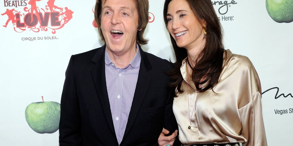 Paul McCartney gibt Ja-Wort