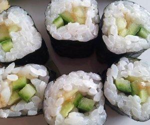 Vegetarisches Sushi