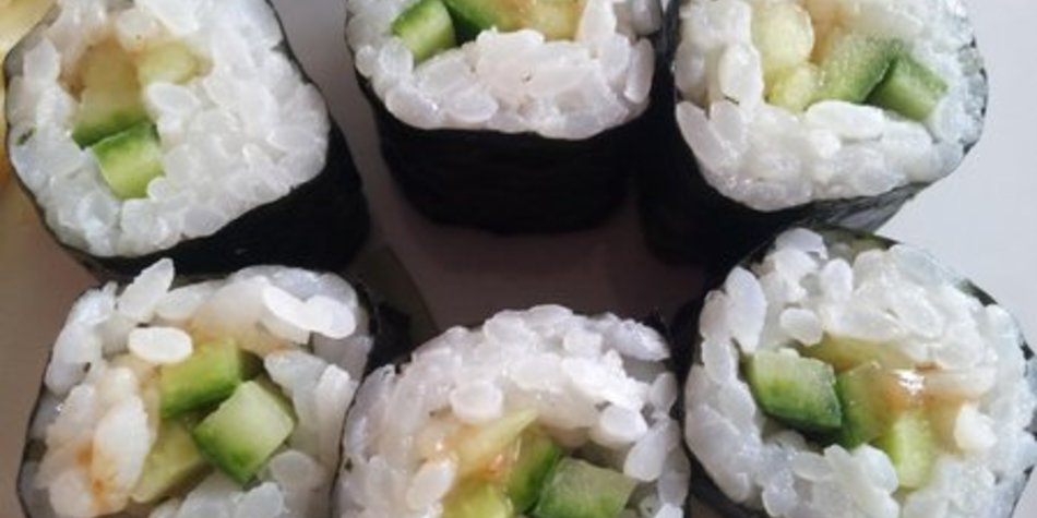 Vegetarisches Sushi