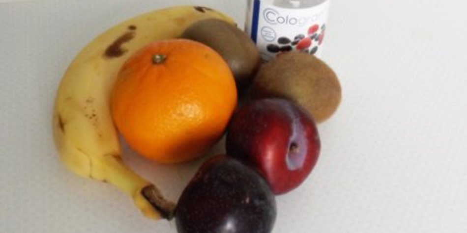 Obstsalat-Smoothie