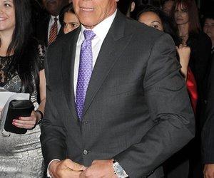 Arnie feiert mit Ex-Frau