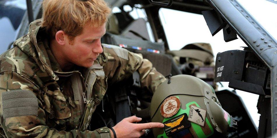 Prinz Harry in Lebensgefahr
