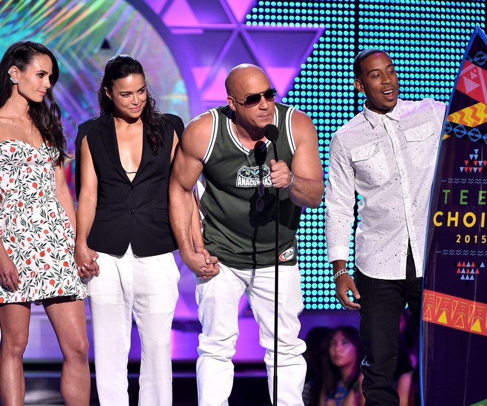 """Vin Diesel widmet """"Teen Choice Award"""" der Tochter von Paul Walker"""