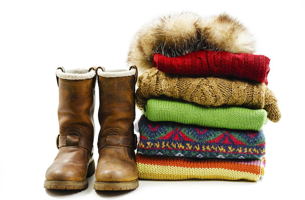 Zu kleiner Kleiderschrank - Winterklamotten
