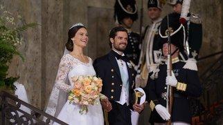 Sofia Hellqvist und Carl Philip von Schweden: Grüße aus den Flitterwochen