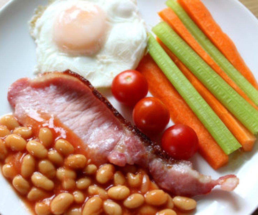 Baked Beans Frühstück