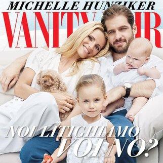 Michelle Hunziker zeigt ihr Familienglück