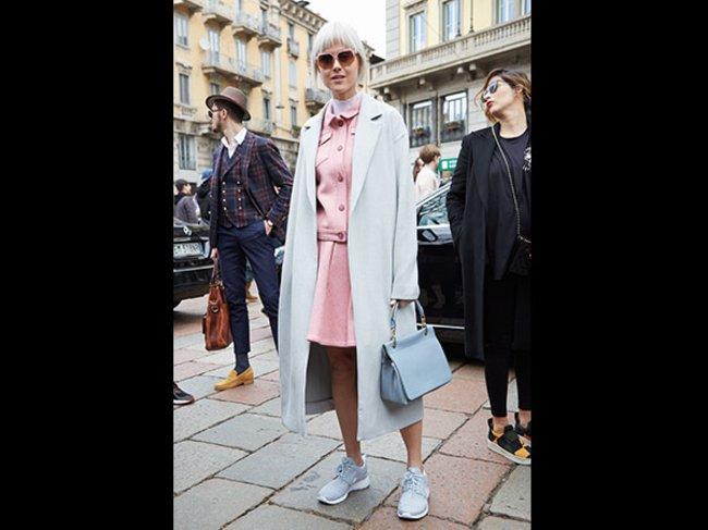 Sneaker zum Business-Look