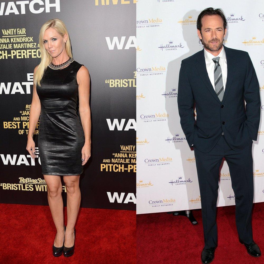 Jennie Garth und Luke Perry: Sind sie ein Paar?