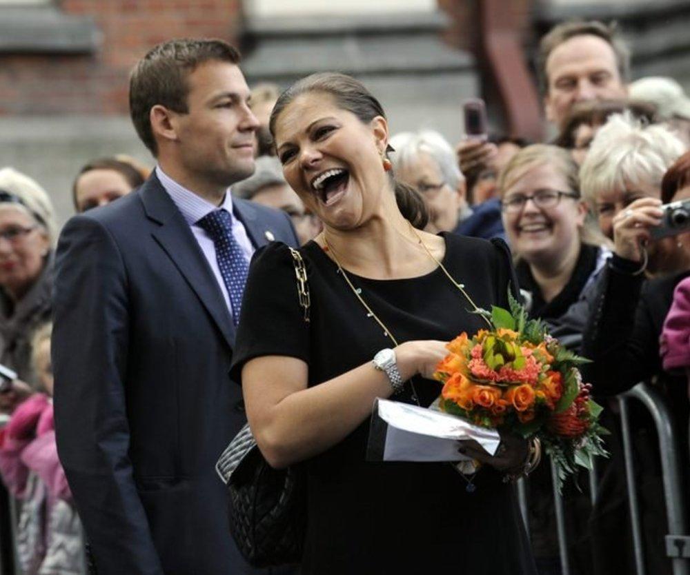 Victoria von Schweden im Glück