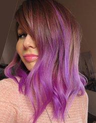 Colorista Purplehair danach