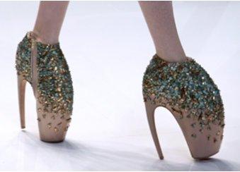 Fashion Week: Schuhe von Alexander McQueen