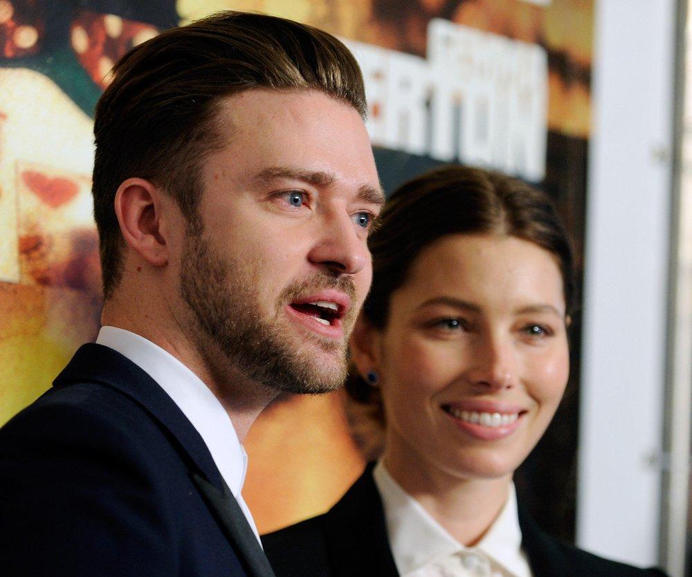 Justin Timberlake im Liebesurlaub