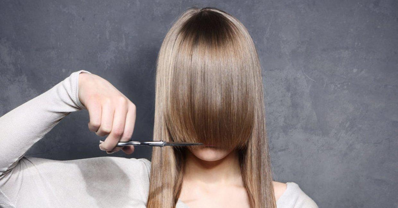 Hellblonden blonde strähnen mit haare Wie du