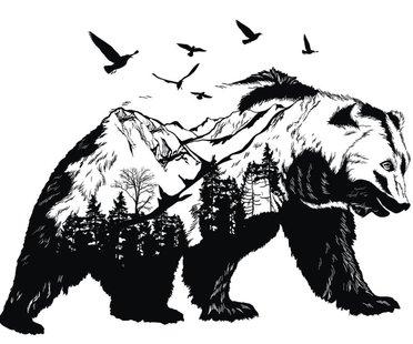 Bär-Tattoo-Vorlage-1