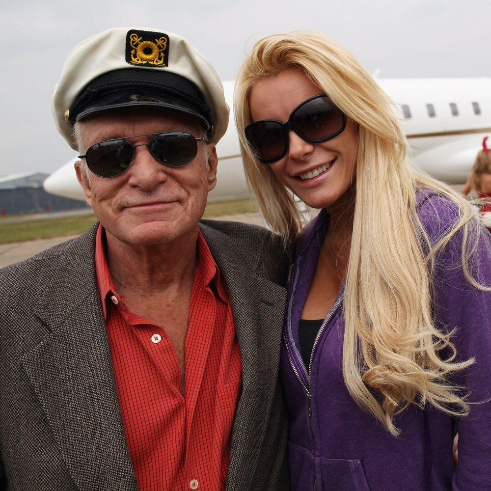 Hugh Hefner: Knallharter Ehevertrag mit Crystal Harris