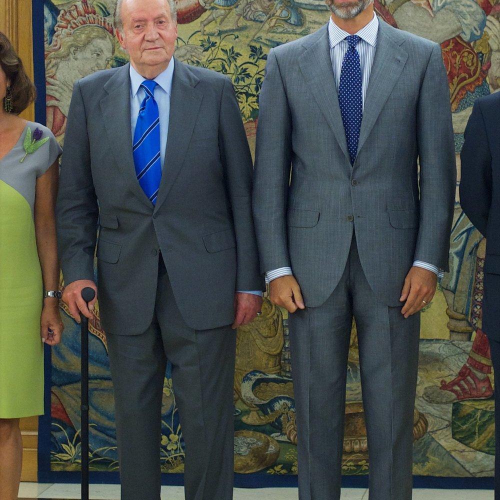 Juan Carlos dankt ab