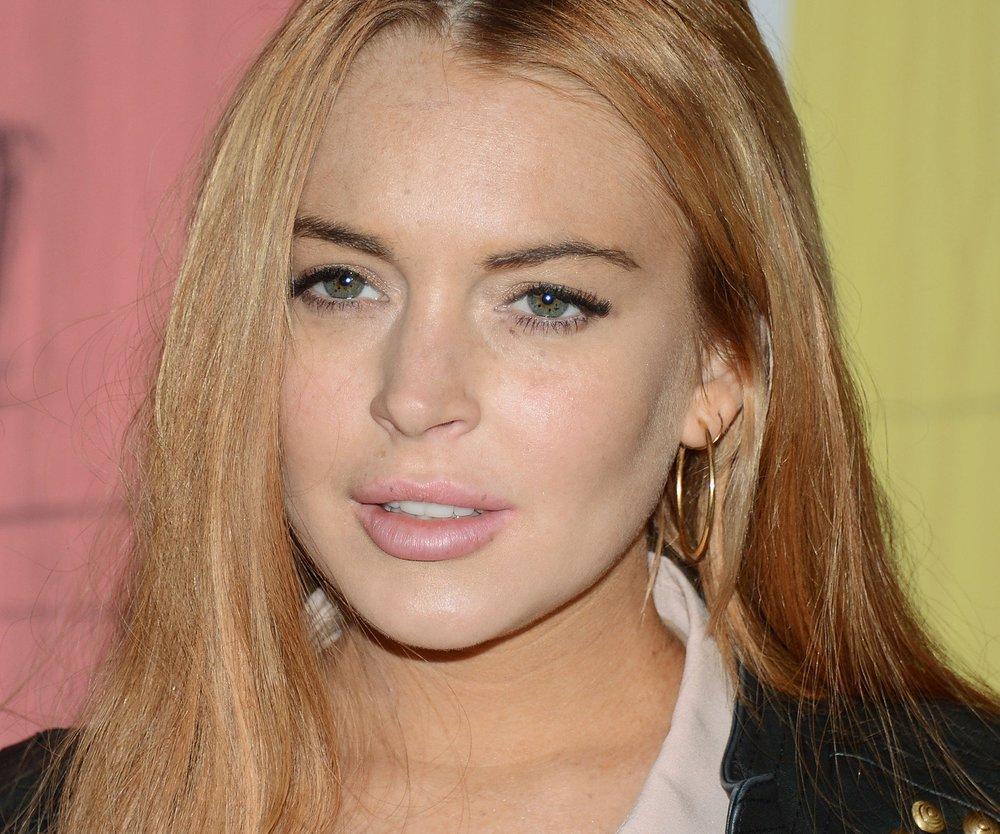 Lindsay Lohan im Neujahrsstress
