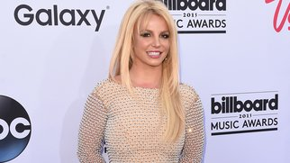 LAS VEGAS, NV - MAY 17: Singer Britney Spears arrives at the 2015 Billboard Music Awards at MGM Garden Arena on May 17, 2015 in Las Vegas, Nevada. (Photo by Jason Merritt/Getty Images)