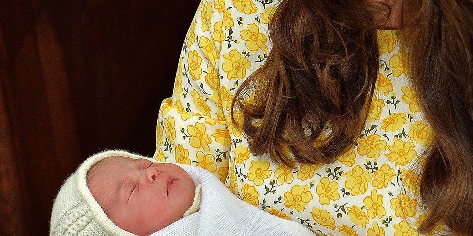 Prinzessin Charlotte ist pflegeleichter als Prinz George