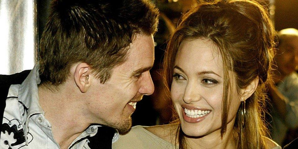 Angelina Jolies Seitensprung mit Ethan Hawke