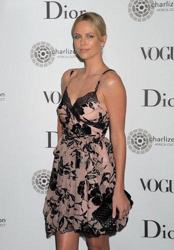 Die Schauspielerin Charlize Theron