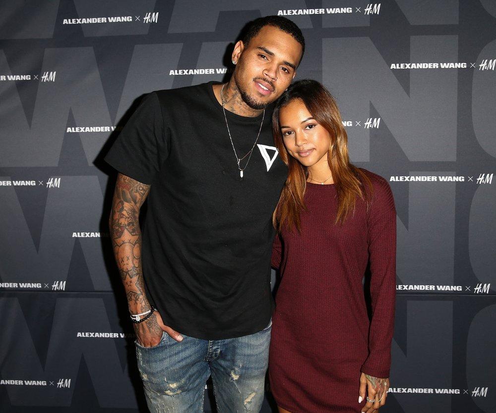 Chris Brown gelobt Karrueche Tran Besserung