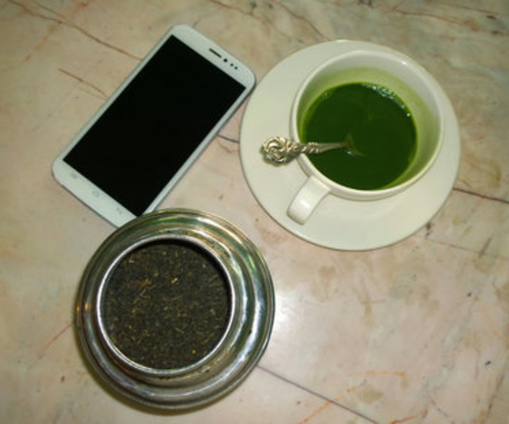 Leckerer Matcha Tee