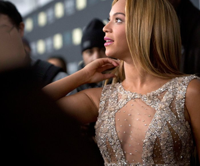 "Bei der Premiere ihrer TV-Doku ""Life Is But A Dream"" in New York: Beyoncé Knowles."