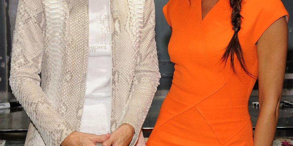 Victoria Beckham als Vogue-Covergirl in eigener Mode?