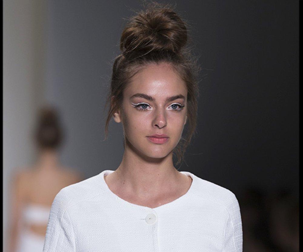 Weißes Make-up