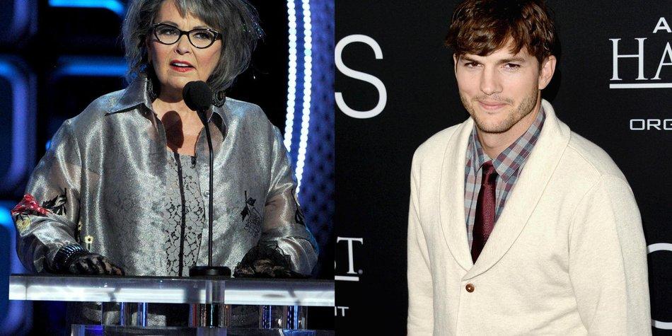 Ashton Kutcher: Stahl er Witze von Roseanne Barr?