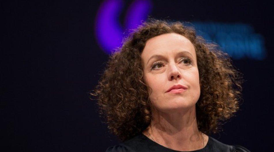 Maria Schrader 2016 beim Literaturfestival Lit.