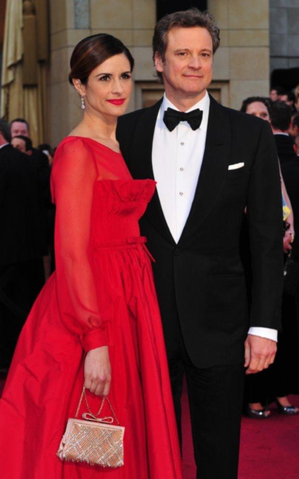 Colin Firth bewies Coolness und kümmerte sich um seine Familie.