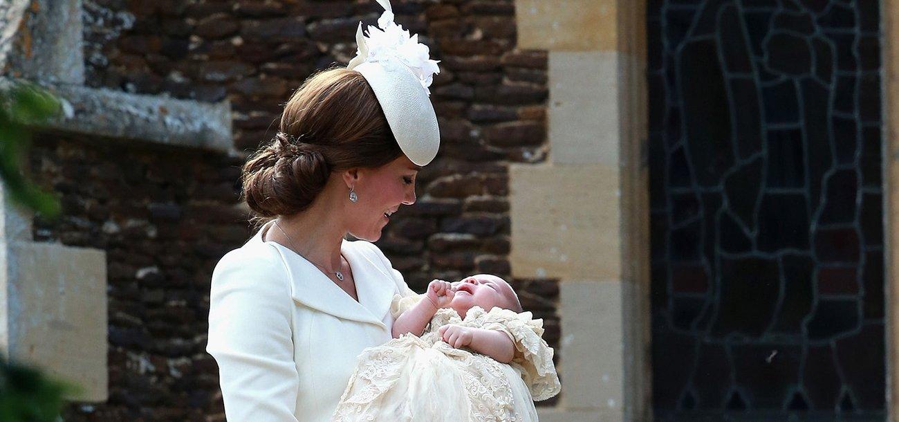 Süß! Prinzessin Charlotte ist jetzt eine Chrysantheme.