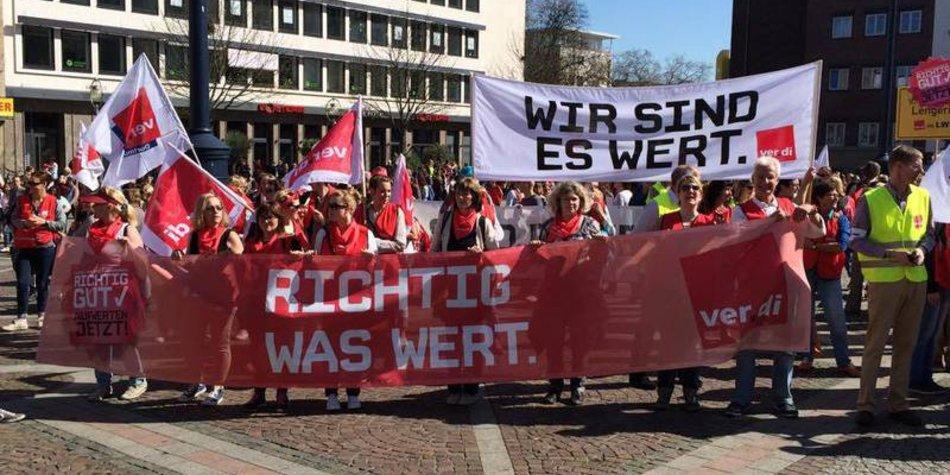 Kita-Streik geht weiter
