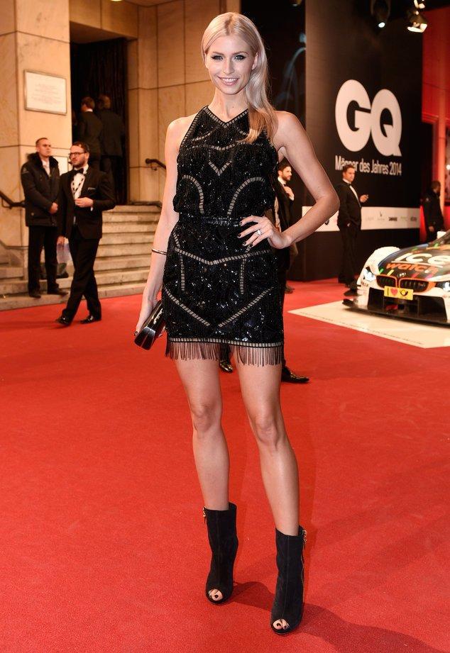 Lena Gercke bei den GQ Awards 2014