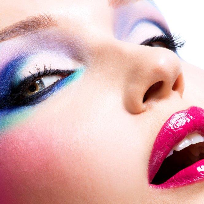 Einhorn-Make-up