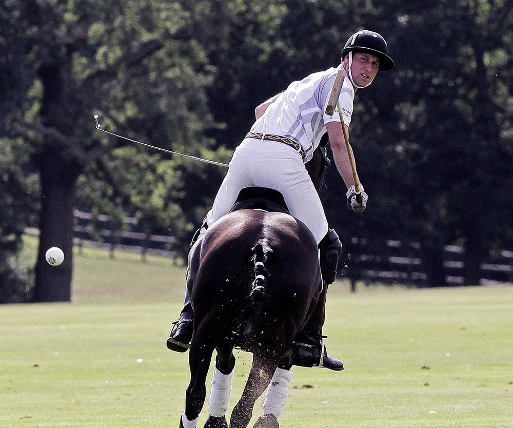 Prinz William: In Gedanken bei seinem Sohn