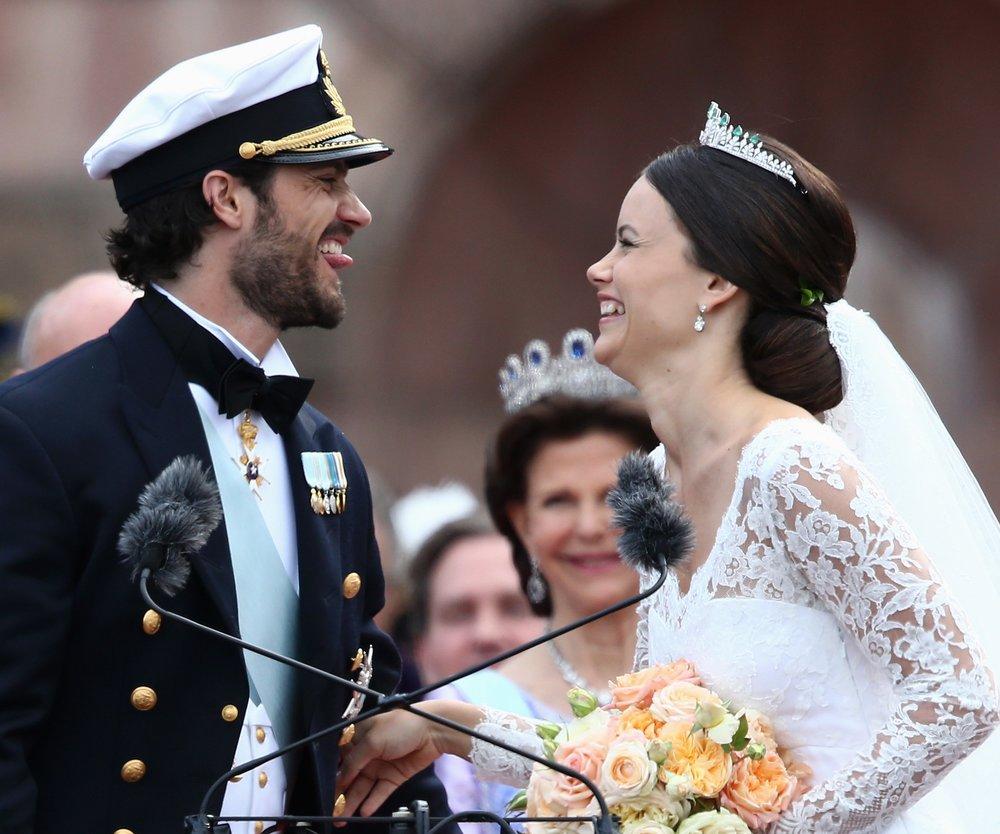 Sofia Hellqvist und Carl Philip von Schweden sind in den Flitterwochen