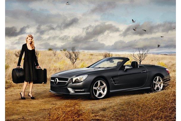 Mercedes Benz-Fashion Week mit Lara Stone