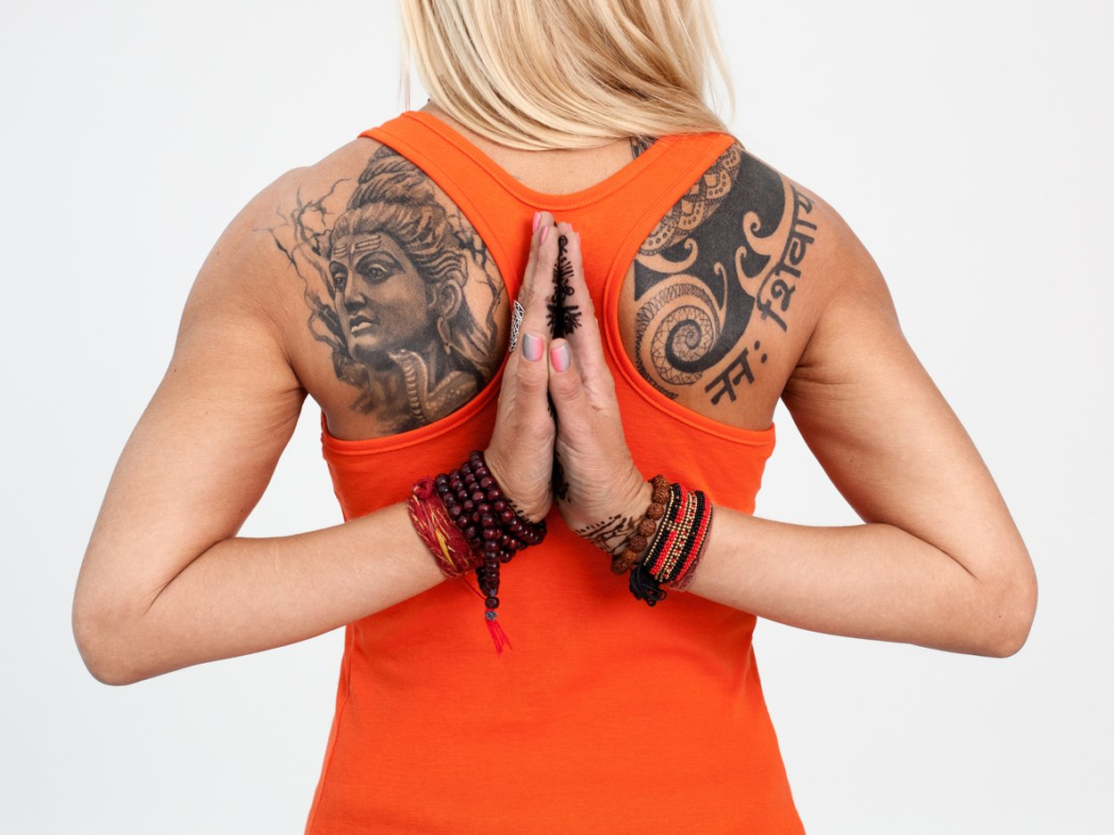 Om-Tattoo Yoga